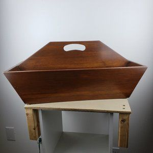 Extra Large Wooden Carrying Box